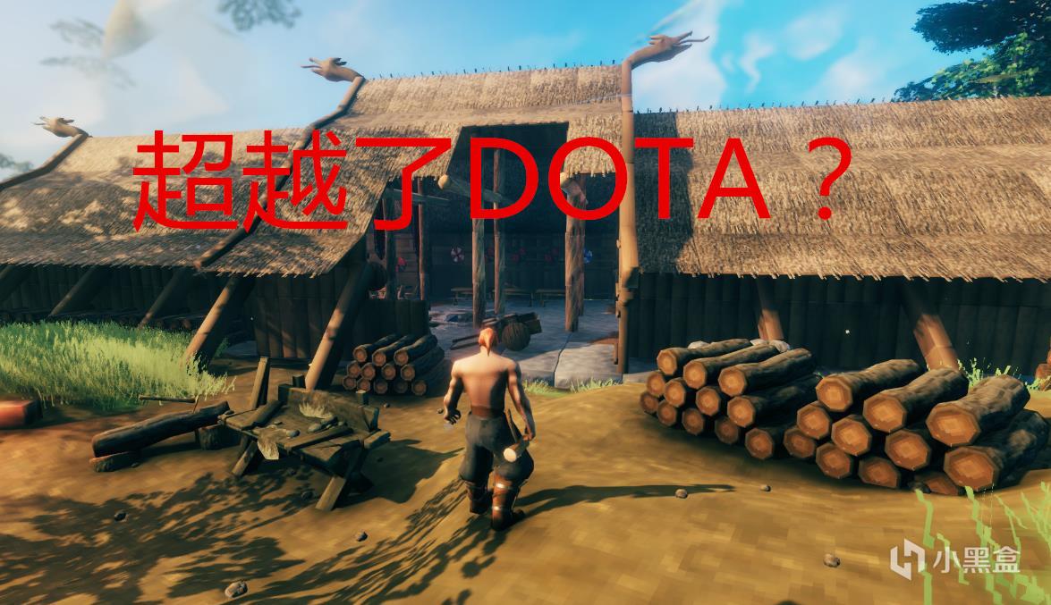 """00万下载50万人在线,5人制作的《英灵神殿》,热度超过了DOTA2?"""""""