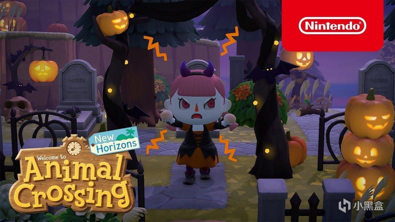《动物森友会》秋季版本更新上线,新增南瓜头和万圣节服饰