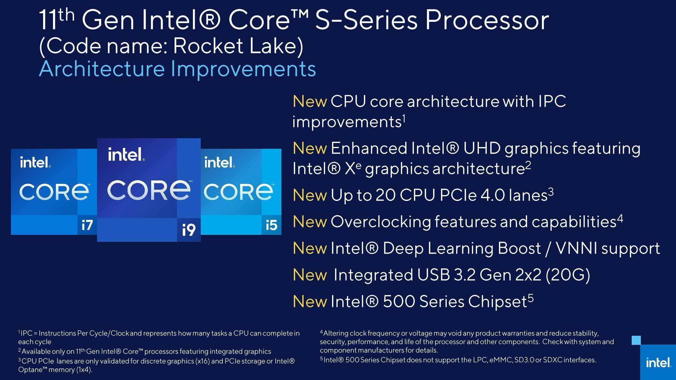 Intel提前解密11代桌面酷睿:除了14nm全变了
