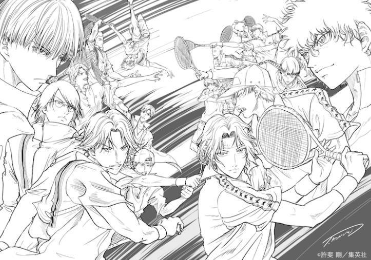 全新动画电影《新网球王子》公开 前后篇2021年春上映-C3动漫网