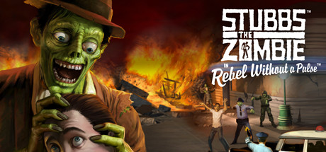 僵尸斯塔布斯(Stubbs the Zombie in Rebel Without a Pulse)插图5