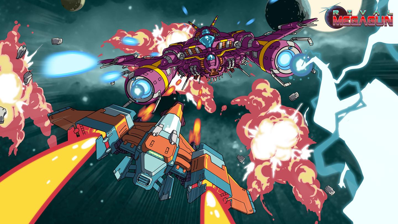 巨型战机对决(Rival Megagun)插图5