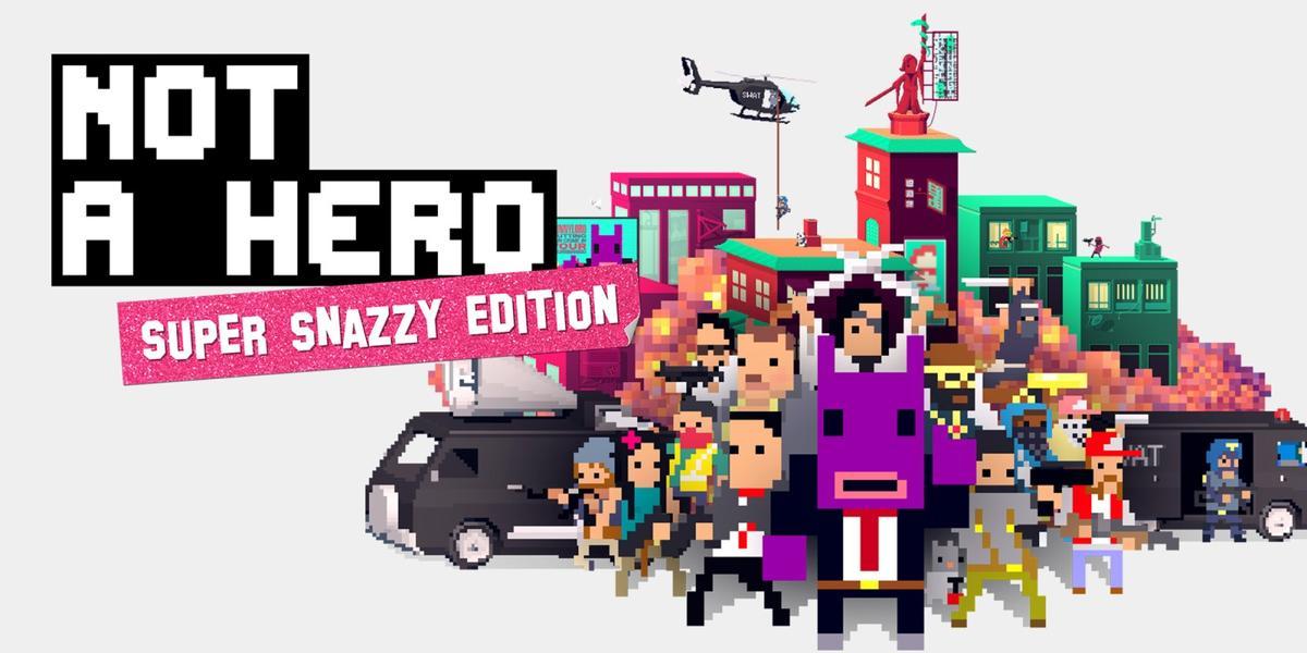 不是英雄:超级时尚版(NOT A HERO: SUPER SNAZZY EDITION)插图5