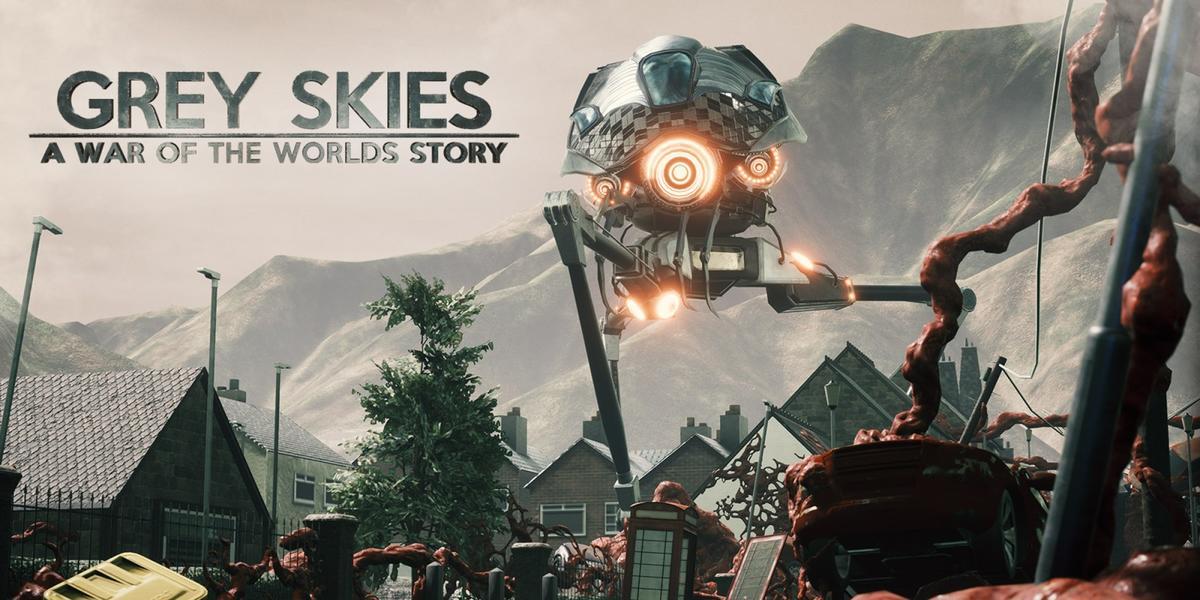 灰色天空:世界大战的故事(Grey Skies: A War of the Worlds Story)插图5
