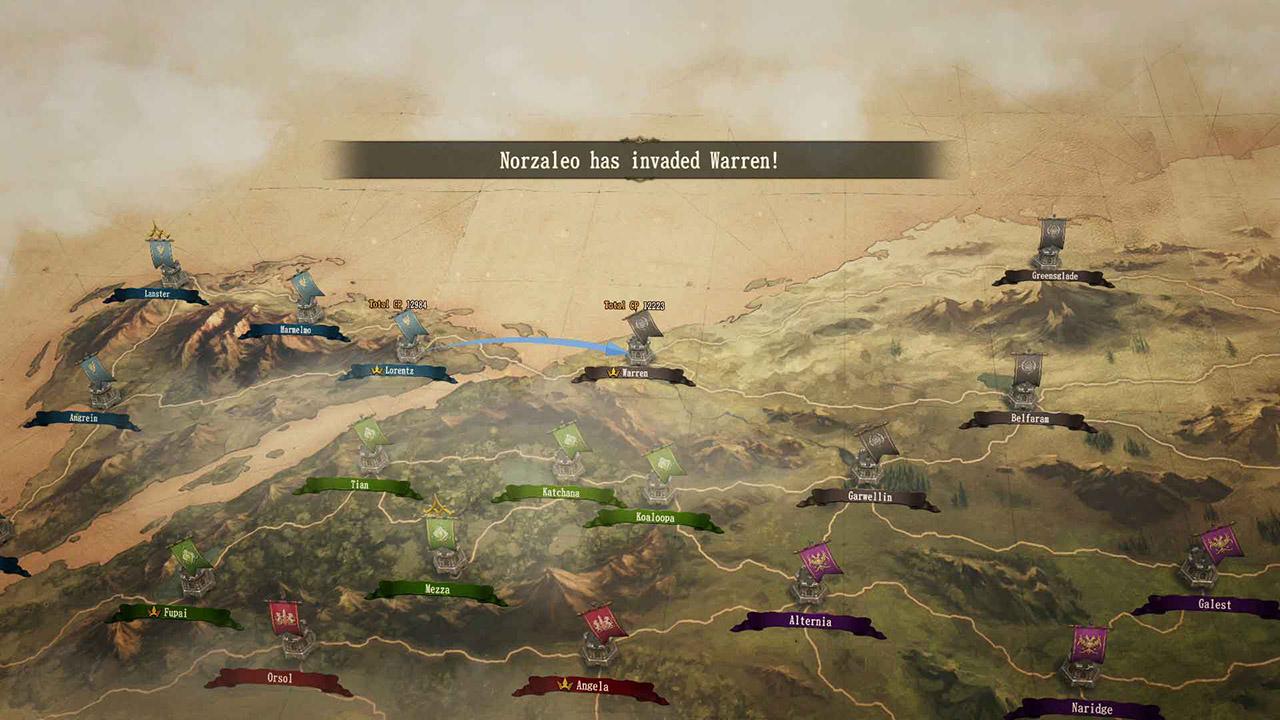 幻想大陆战记:卢纳基亚传说(Brigandine: The Legend of Runersia)插图3