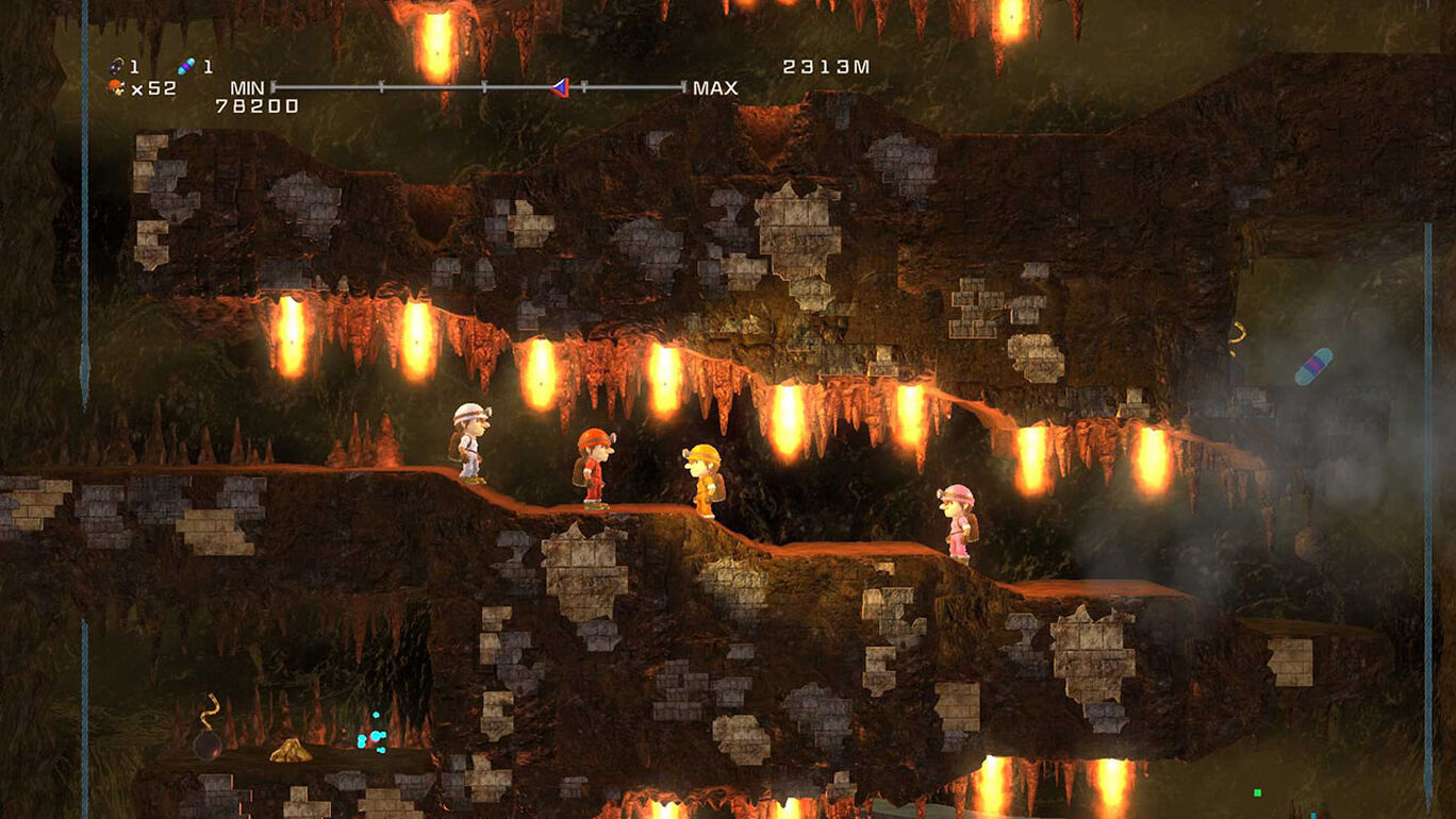 洞穴探险者HD豪华版(Spelunker HD Deluxe)插图4
