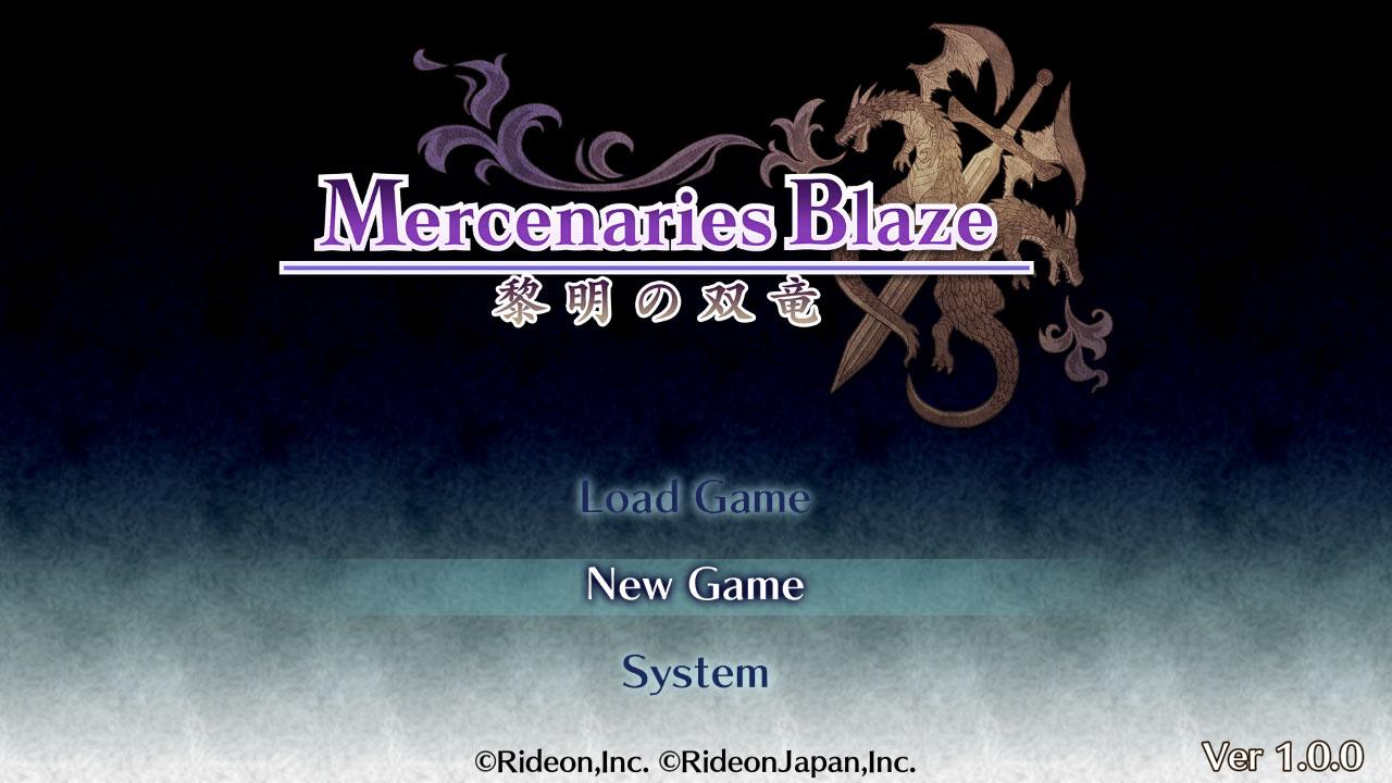 佣兵烈焰:黎明双龙(Mercenaries Blaze: Dawn of the Twin Dragons)插图