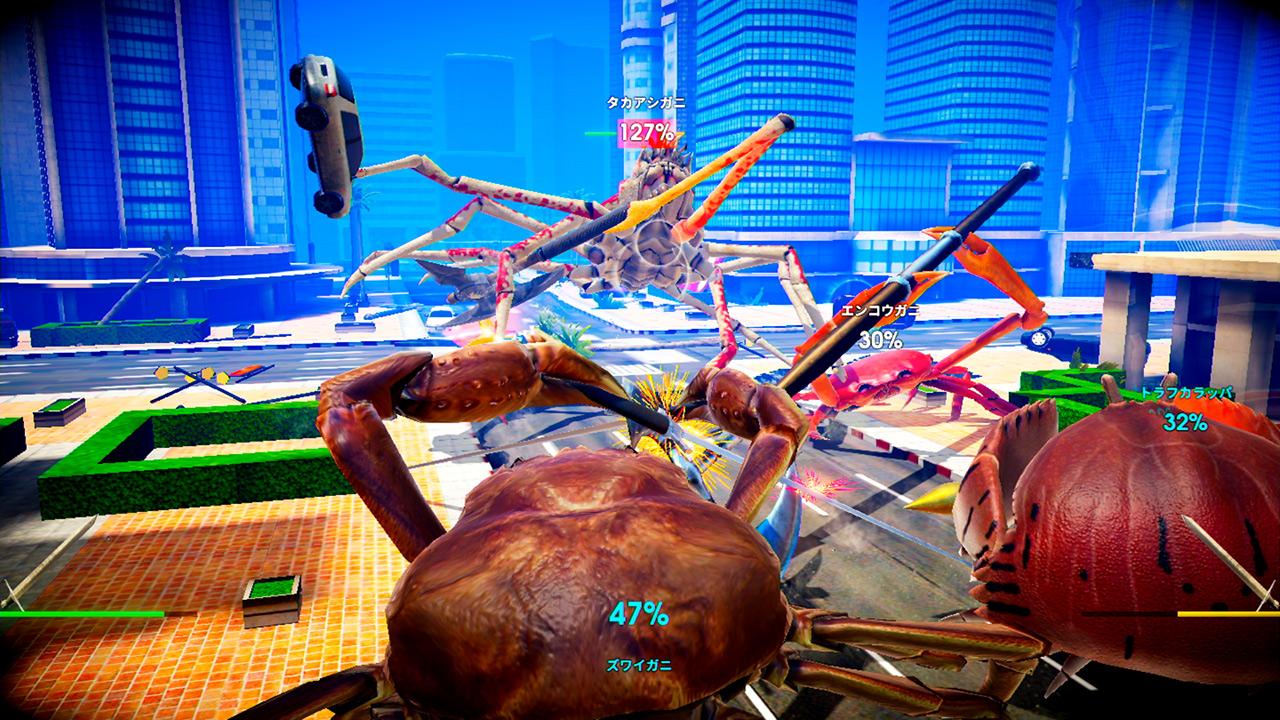 螃蟹大战:螫战(Fight Crab)插图