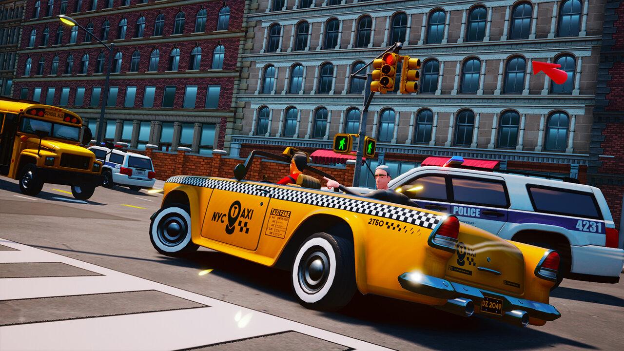 混乱出租车(Taxi Chaos)插图