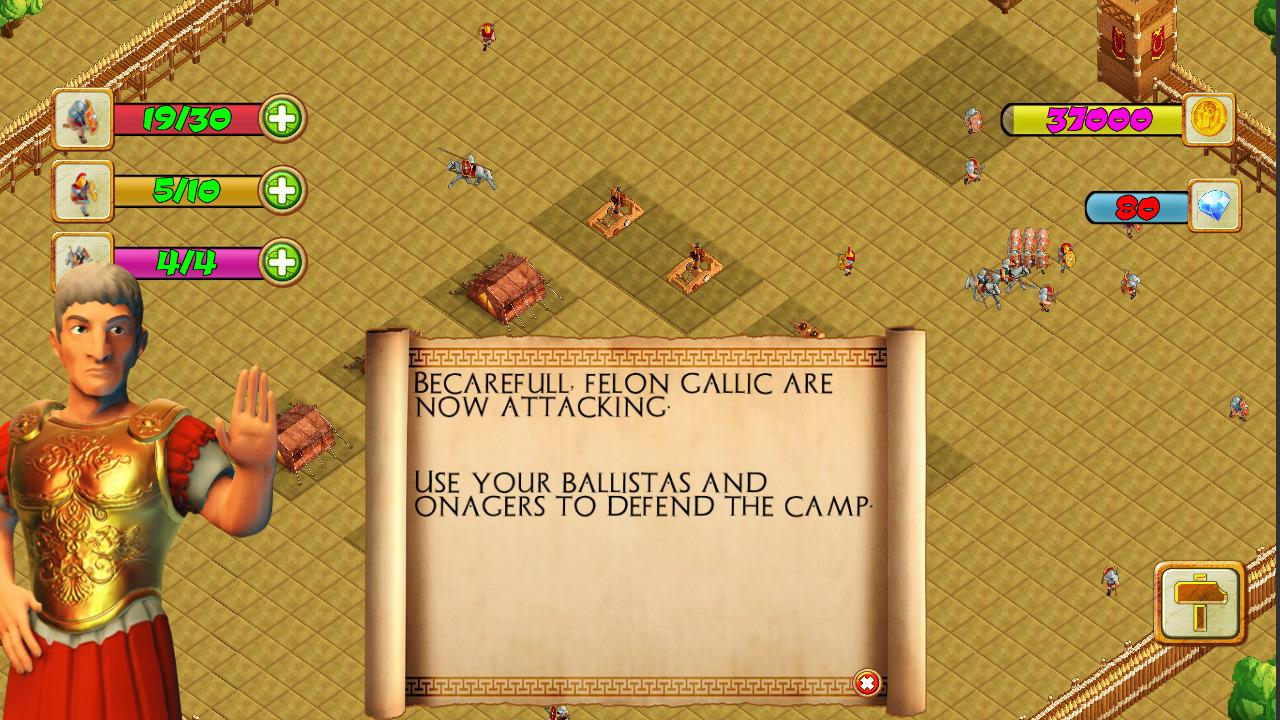 凯撒帝国战争(CAESAR EMPIRE WAR)插图1