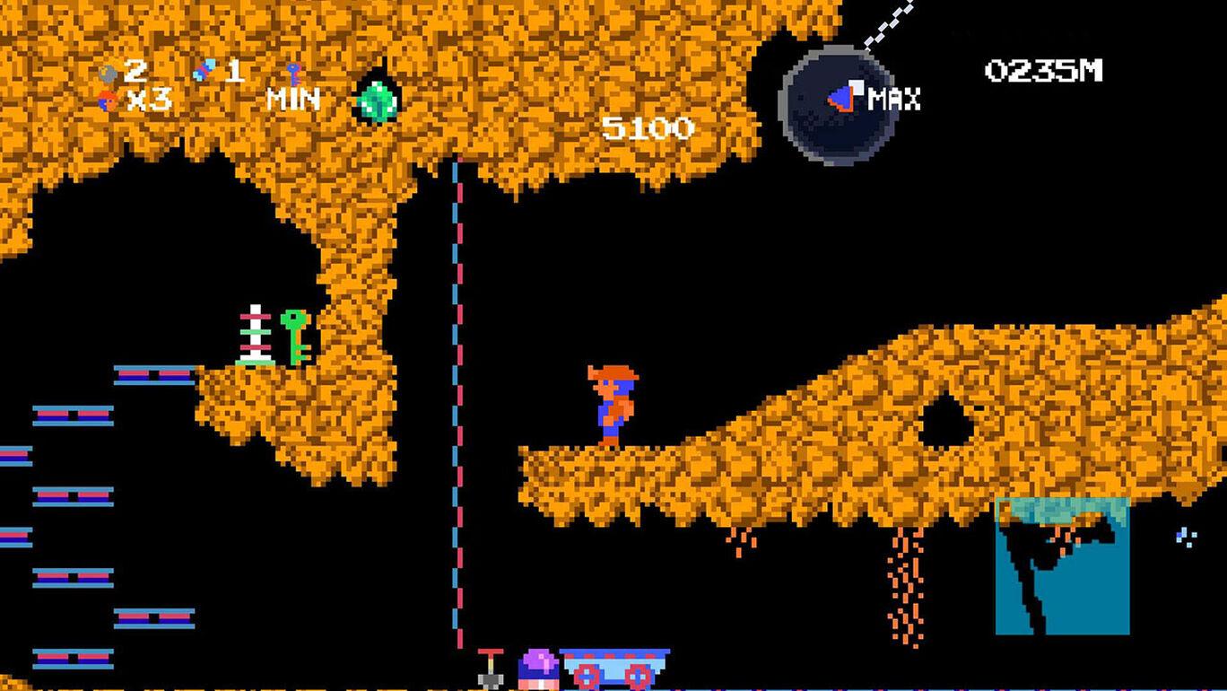 洞穴探险者HD豪华版(Spelunker HD Deluxe)插图2